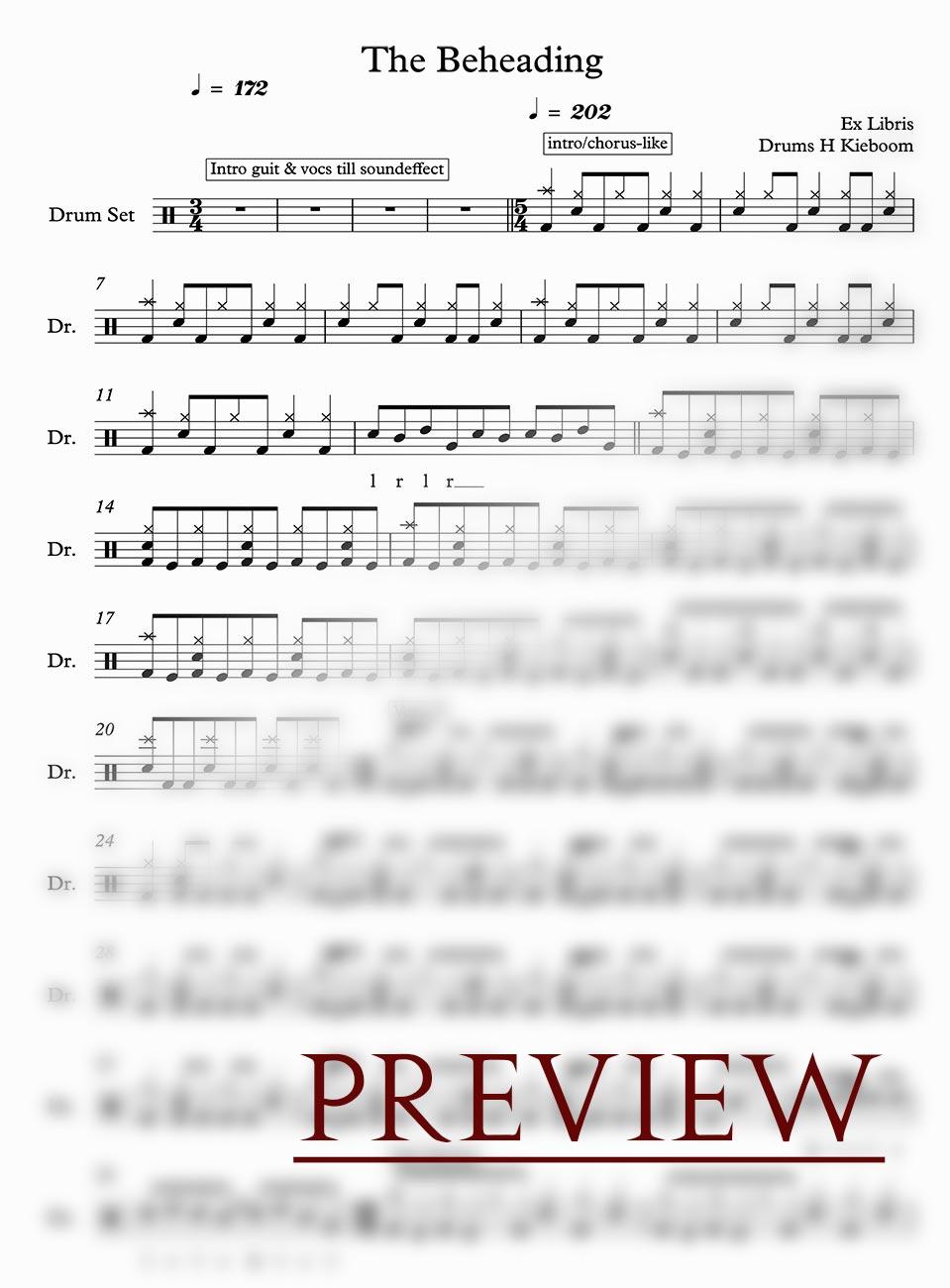 Digital sheet music - ANN, Chapter 1